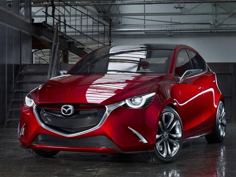 Новый Mazda Hazumi - Mazda Hazumi concept 2014 вид спереди