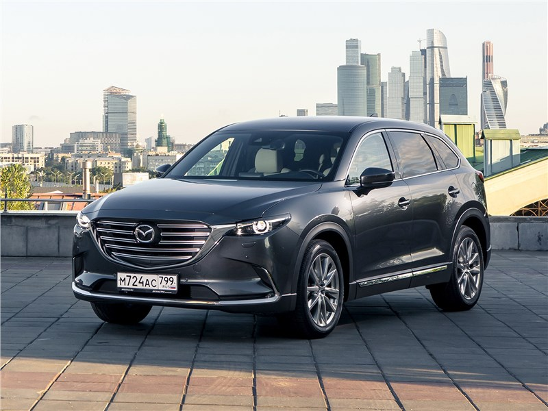 Mazda CX-9 2016 вид спереди