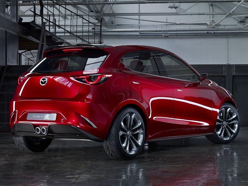 Mazda Hazumi concept 2014 вид сзади