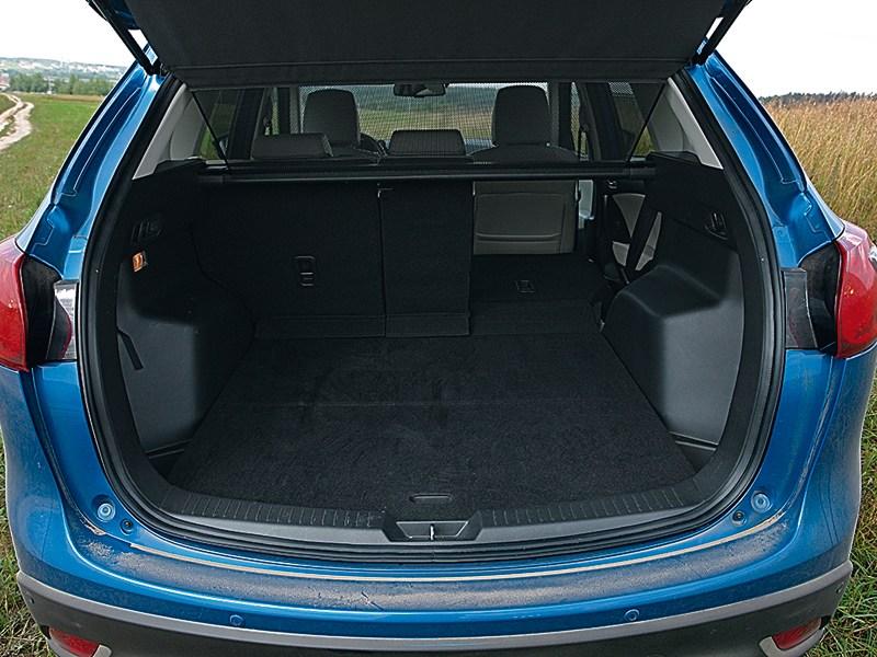 Mazda CX-5 багажное отделение