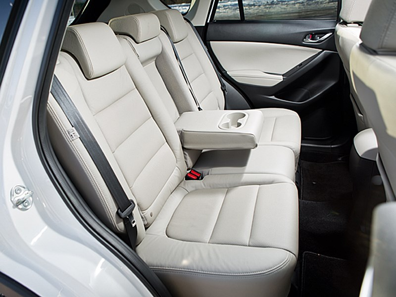 Mazda CX-5 2013 задний диван