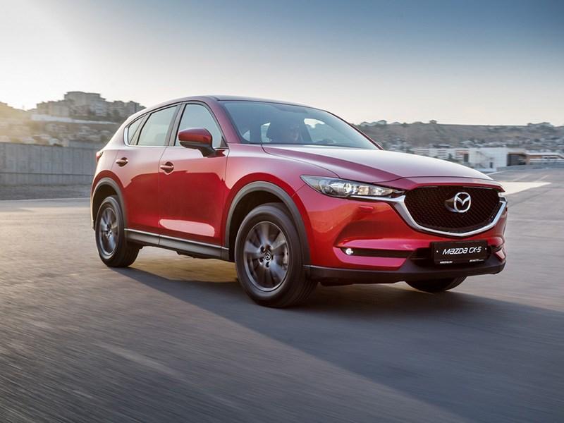 Mazda привезла в Россию новое поколение кроссовера CX-5