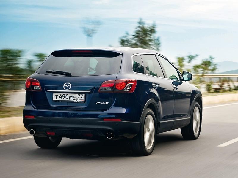 Mazda CX-9 2013 вид сзади