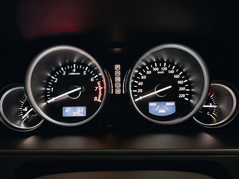 Mazda CX-9 2013 приборная панель