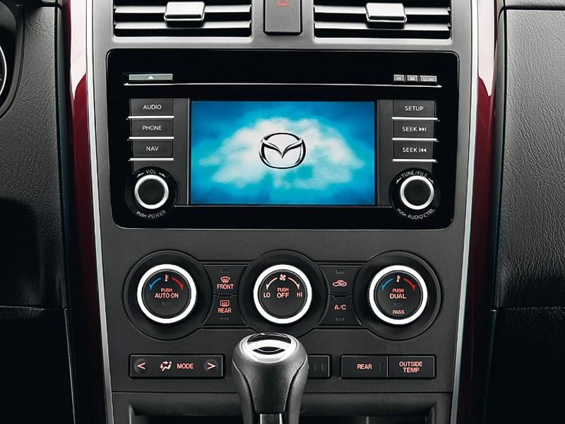 Mazda CX-9 2013 центральная консоль
