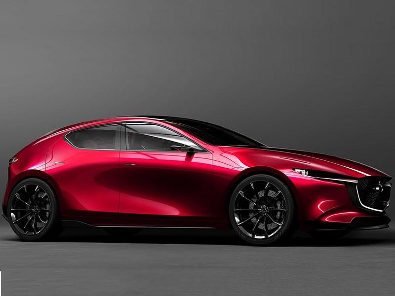 Mazda показала, как будет выглядеть новая Mazda3
