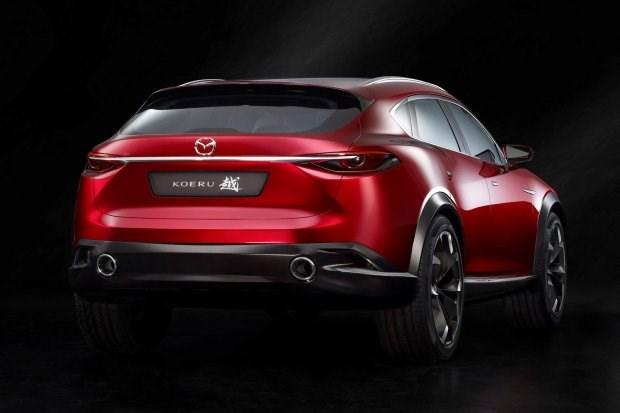 Mazda проводит испытания нового купеобразного кроссовера Koeru