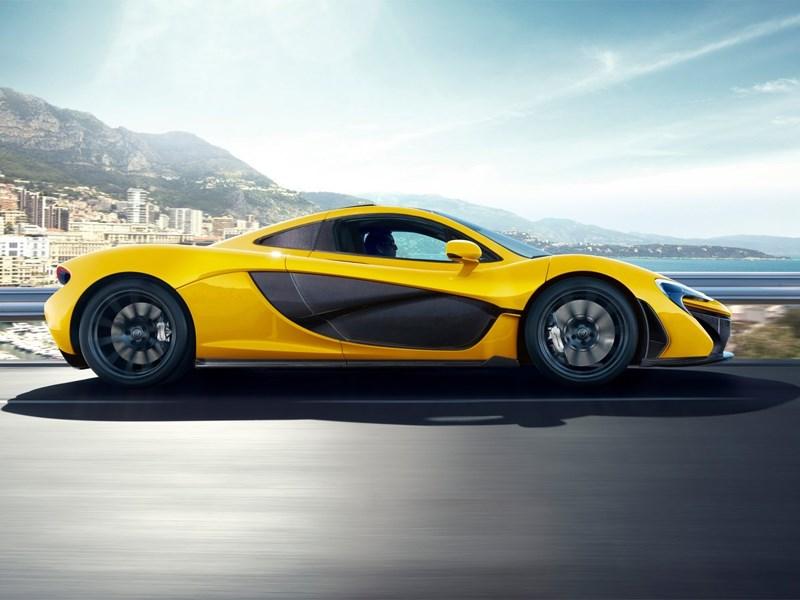 McLaren P1 2013 вид сбоку