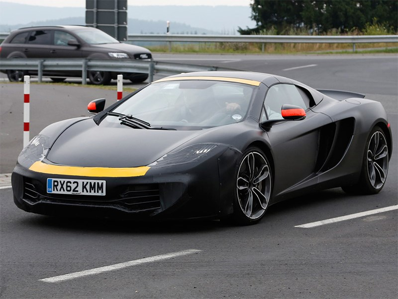 McLaren P13 concept 2014 вид спереди сбоку