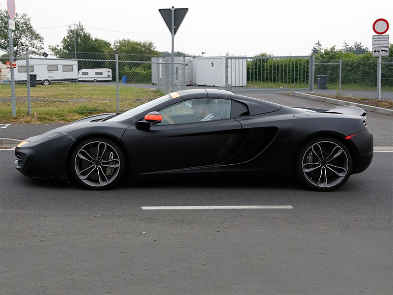 McLaren P13 concept 2014 вид сбоку