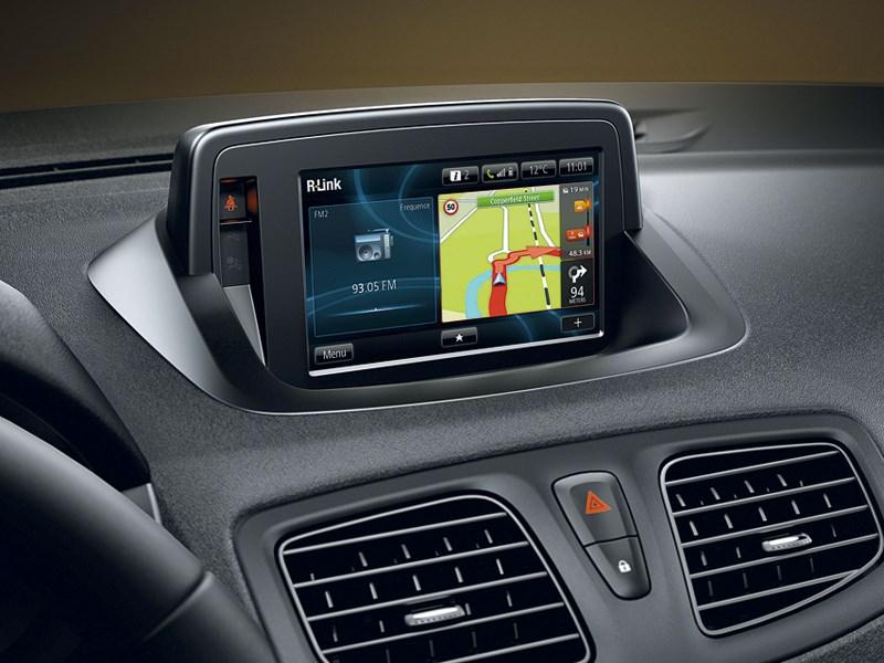 Renault Megane 2013 монитор системы R-Link