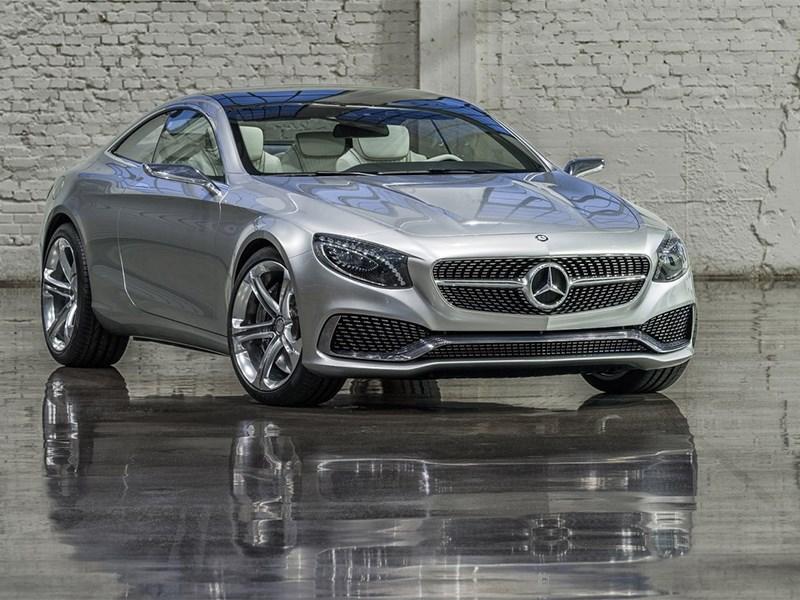 Mercedes-Benz S-Klasse концепт 2014 вид спереди