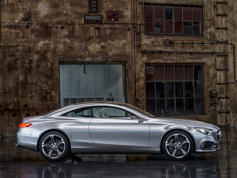 Mercedes-Benz S-Klasse концепт 2014 вид сбоку