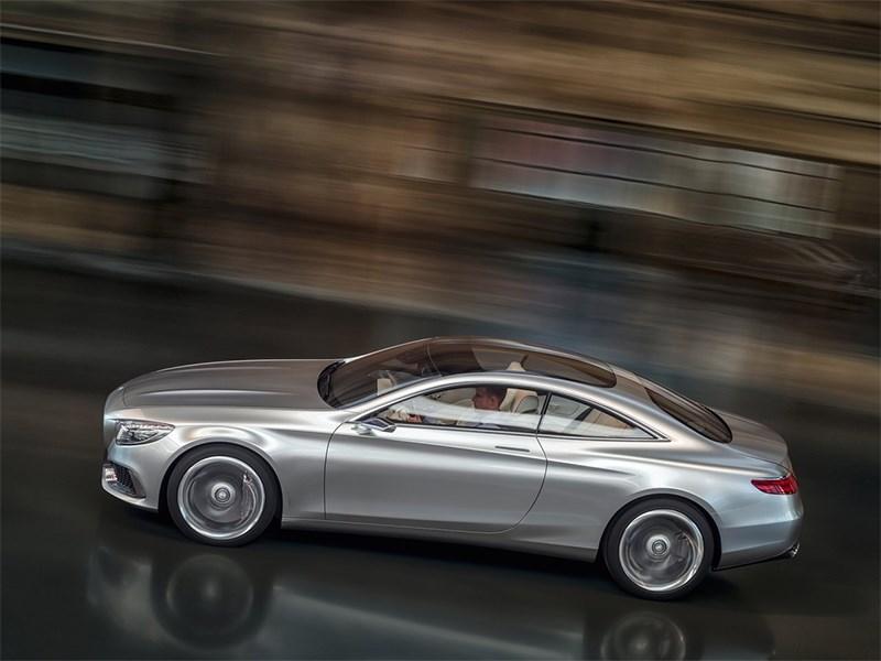 Mercedes-Benz S-Klasse концепт 2014 вид сверху