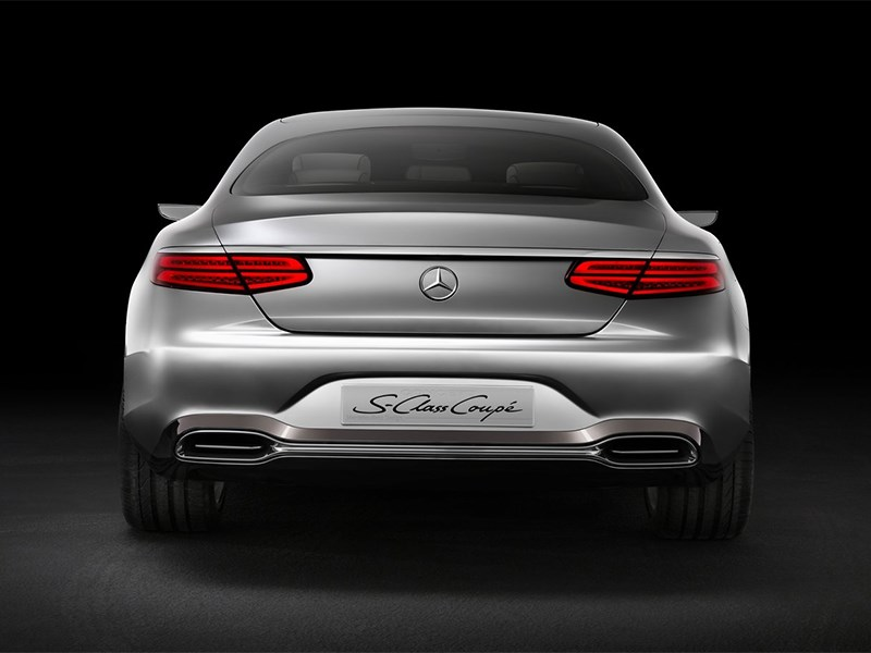 Mercedes-Benz S-Klasse концепт 2014 вид сзади