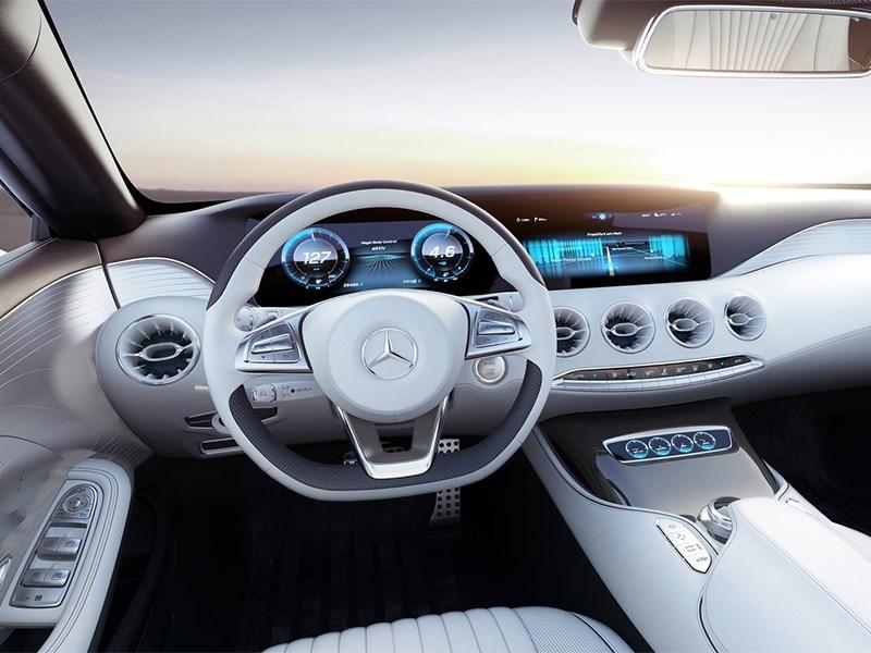 Mercedes-Benz S-Klasse концепт 2014 водительское место