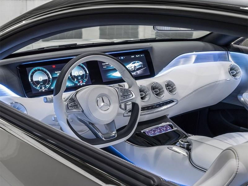 Mercedes-Benz S-Klasse концепт 2014 водительское место 2