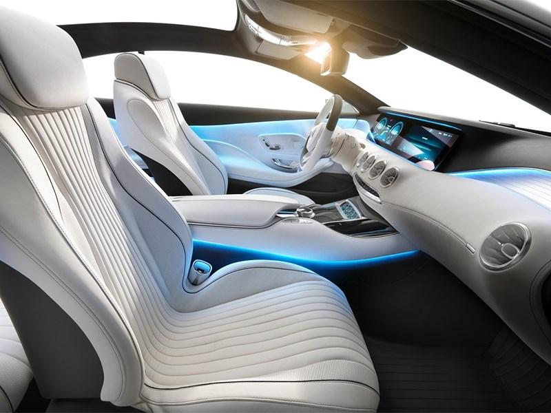 Mercedes-Benz S-Klasse концепт 2014 передние кресла