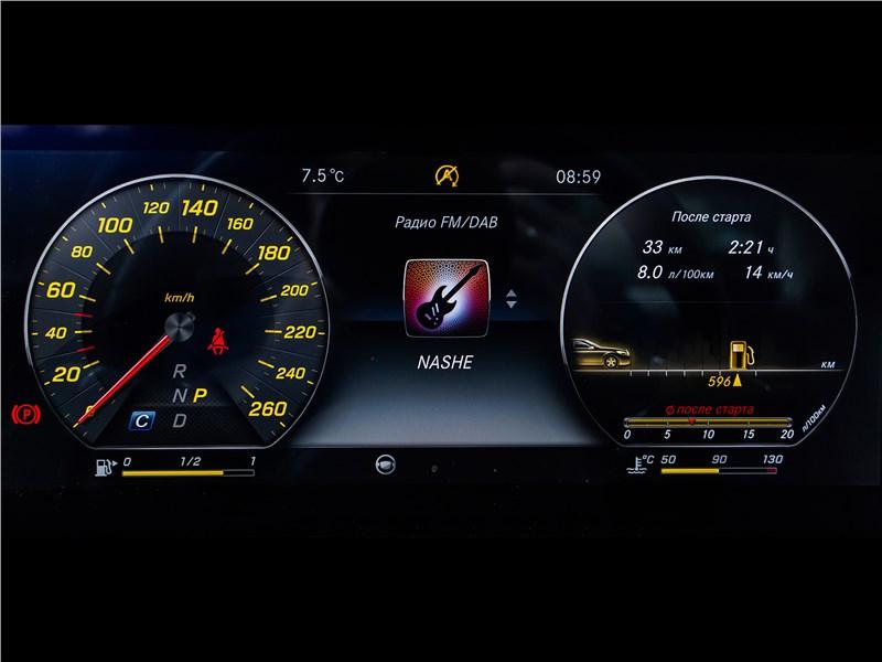 Mercedes-Benz E 220 d 2017 приборная панель