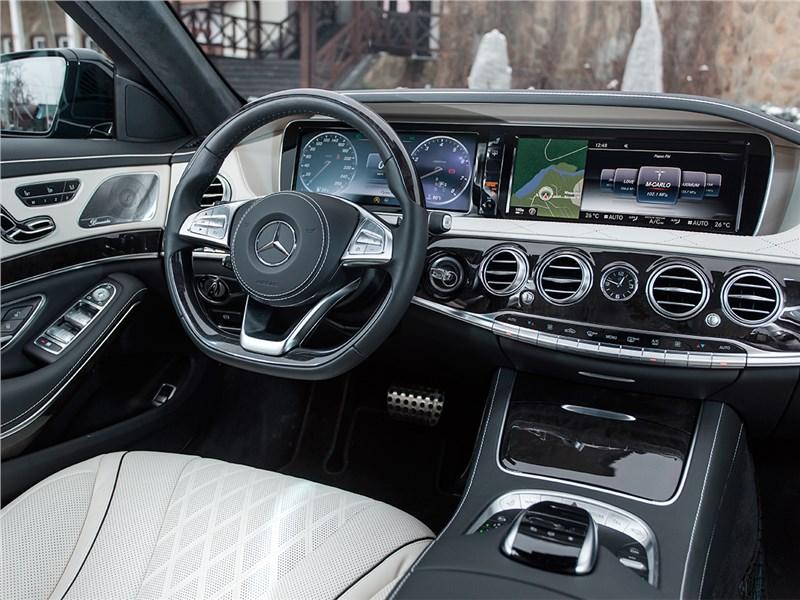 Mercedes-Benz S500 AMG 2014 салон