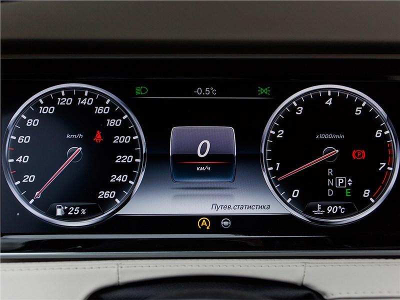 Mercedes-Benz S500 AMG 2014 приборная панель