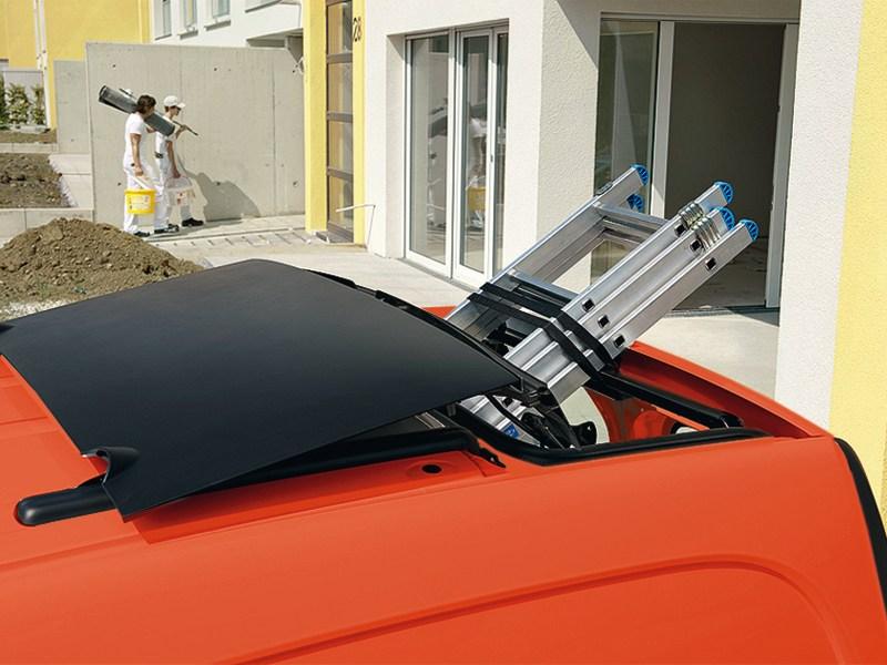 Mercedes-Benz Citan 2012 люк в крыше