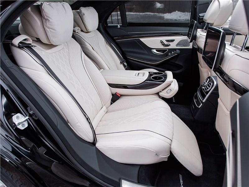 Mercedes-Benz S500 AMG 2014 задние кресла