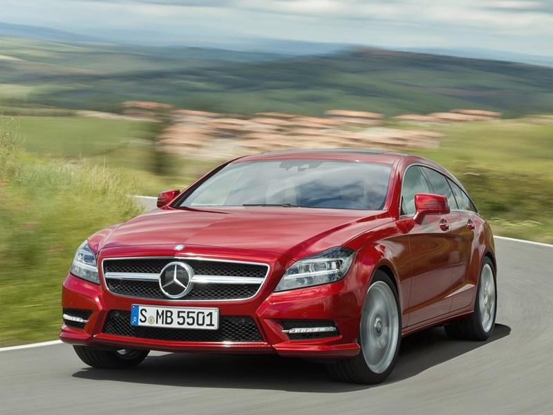 Mercedes-Benz CLS 2013 вид спереди