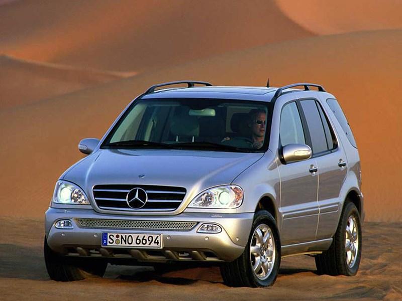 Положение обязывает.. (BMW X5, Mercedes-Benz ML-Klasse, Volkswagen Touareg) M-Class поколение W163