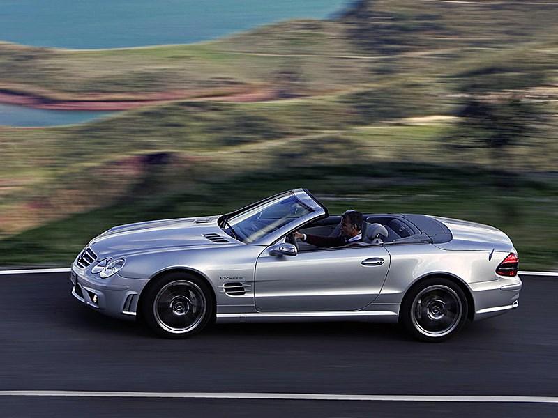 Mercedes-Benz SL65 AMG 2006 фото в динамике