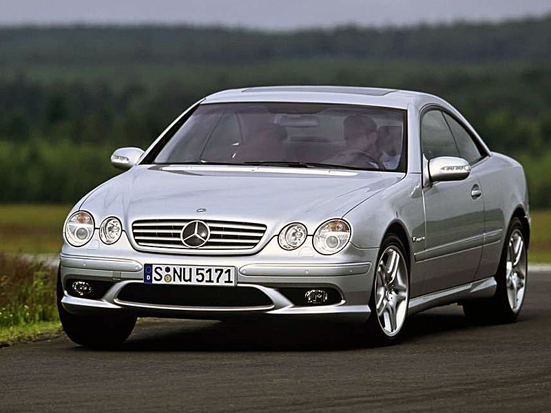 Mercedes-Benz CL55 AMG 2003