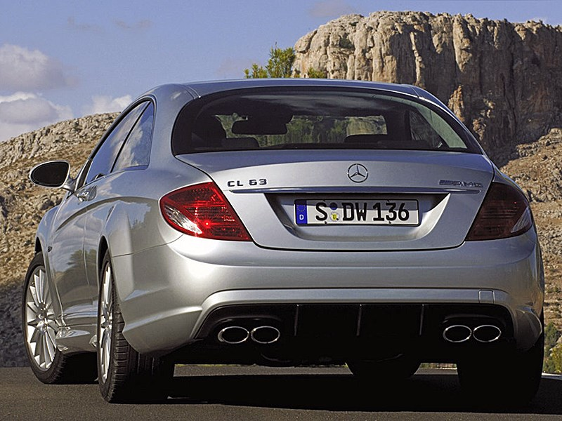 Mercedes-Benz CL563 AMG 2007