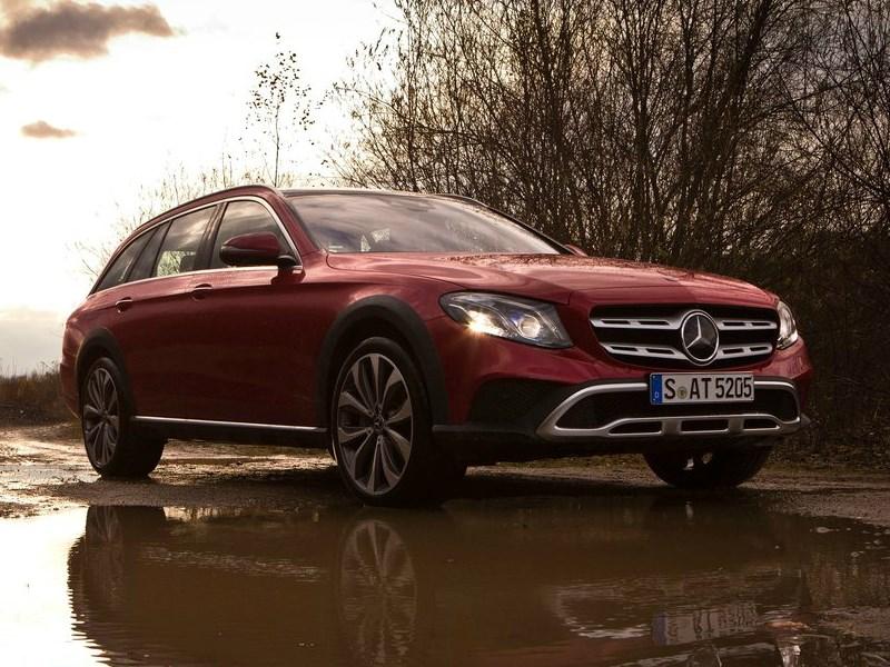 Mercedes-Benz назвал российские цены нового E-Class All-Terrain