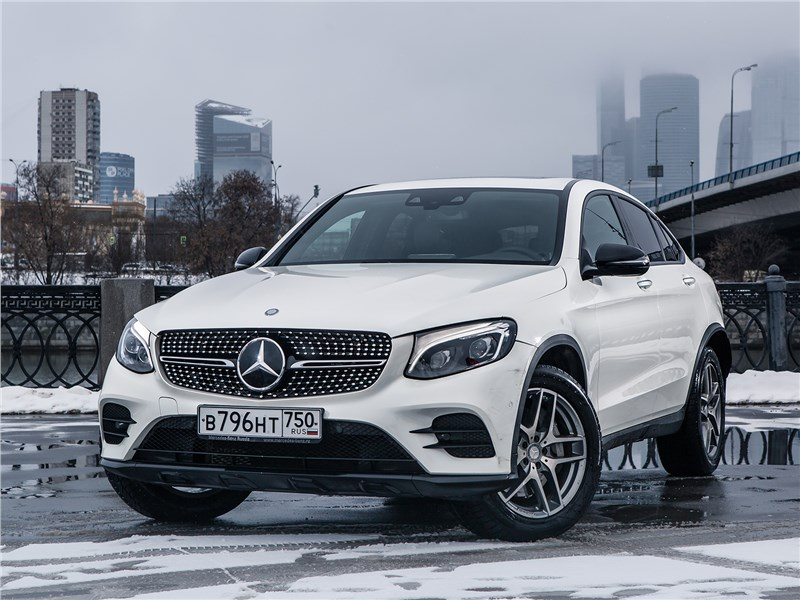 Mercedes-Benz GLC Coupe 2017 вид спереди