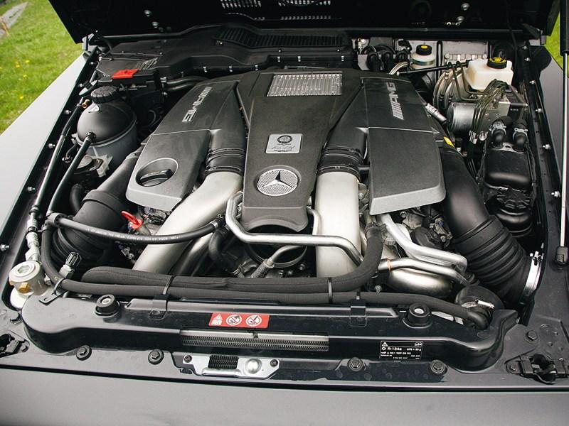 Mercedes-Benz G-Klasse AMG 2012 двигатель