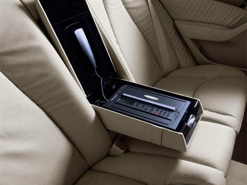 Mercedes-Benz S-Klasse 2004 задний диван