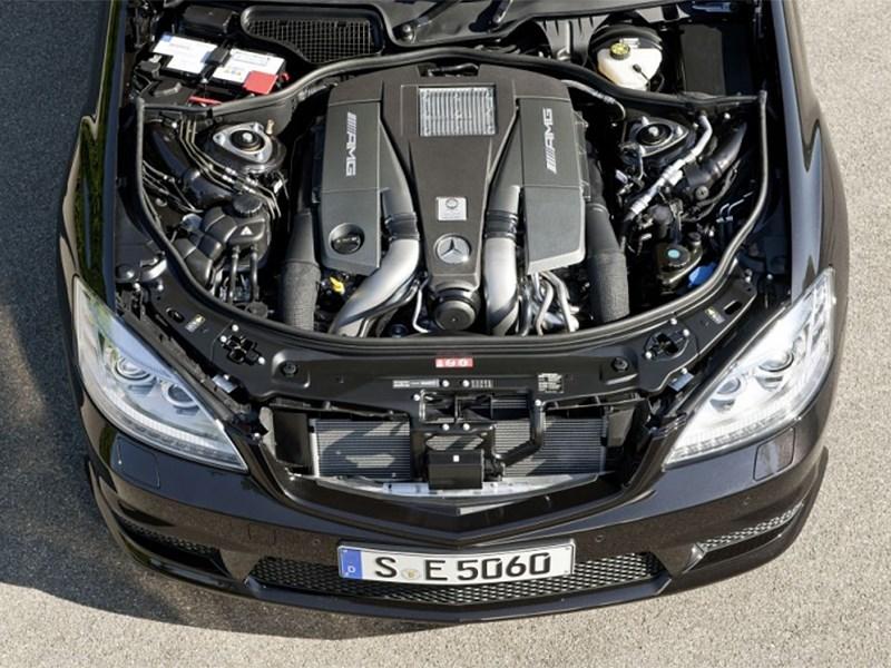 Mercedes-Benz S-Klasse 2010 двигатель