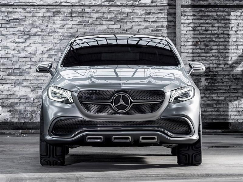 Mercedes-Benz Coupe SUV Concept 2014 фас
