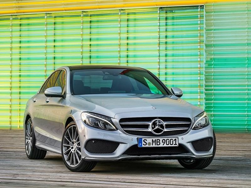 Новый Mercedes-Benz C-Class - Mercedes-Benz C-Klasse 2014 вид спереди