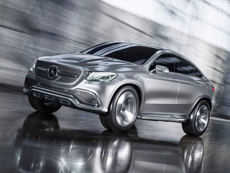 Mercedes-Benz Coupe SUV Concept 2014 основной вид