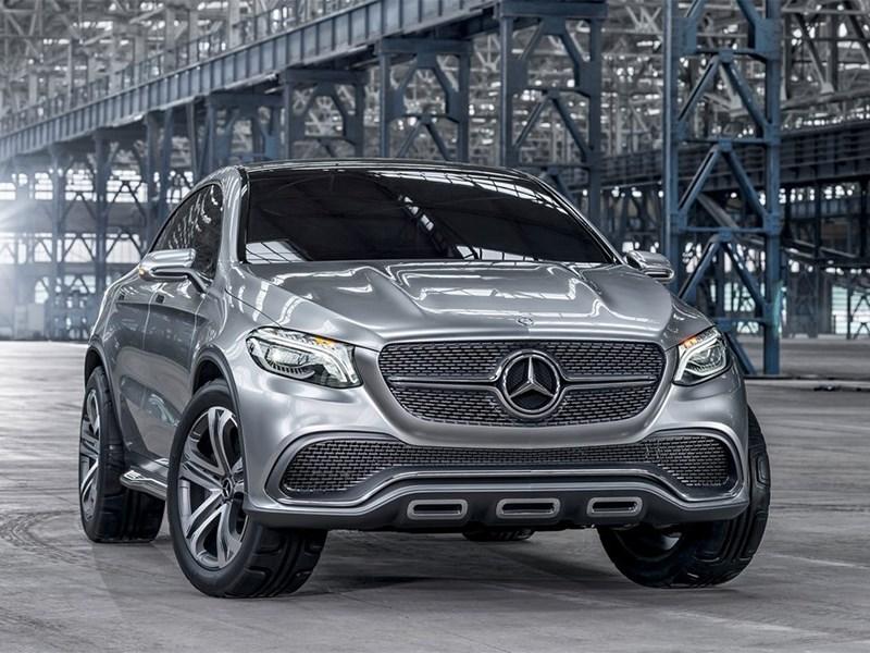 Mercedes-Benz Coupe SUV Concept 2014 вид спереди