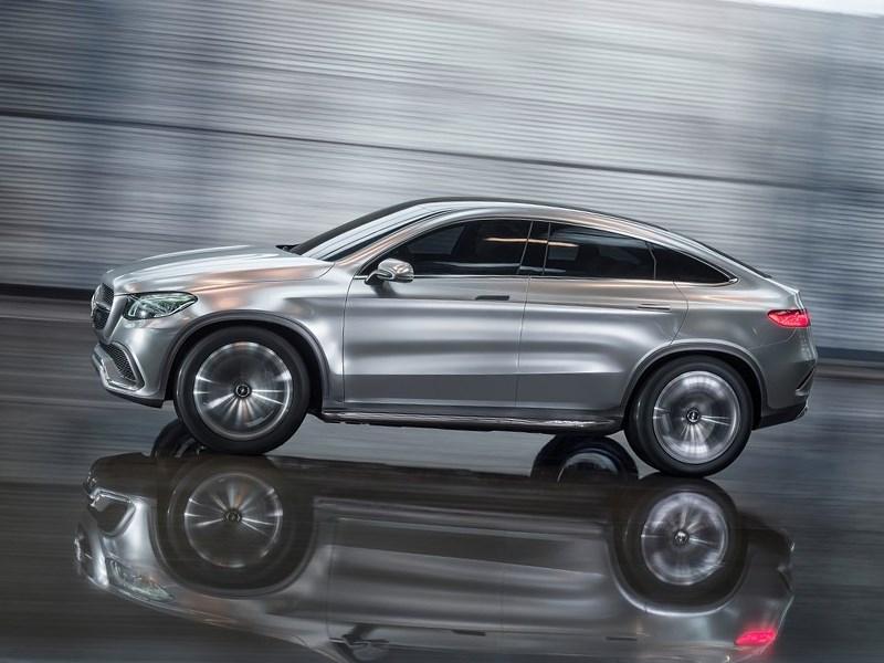 Mercedes-Benz Coupe SUV Concept 2014 вид сбоку