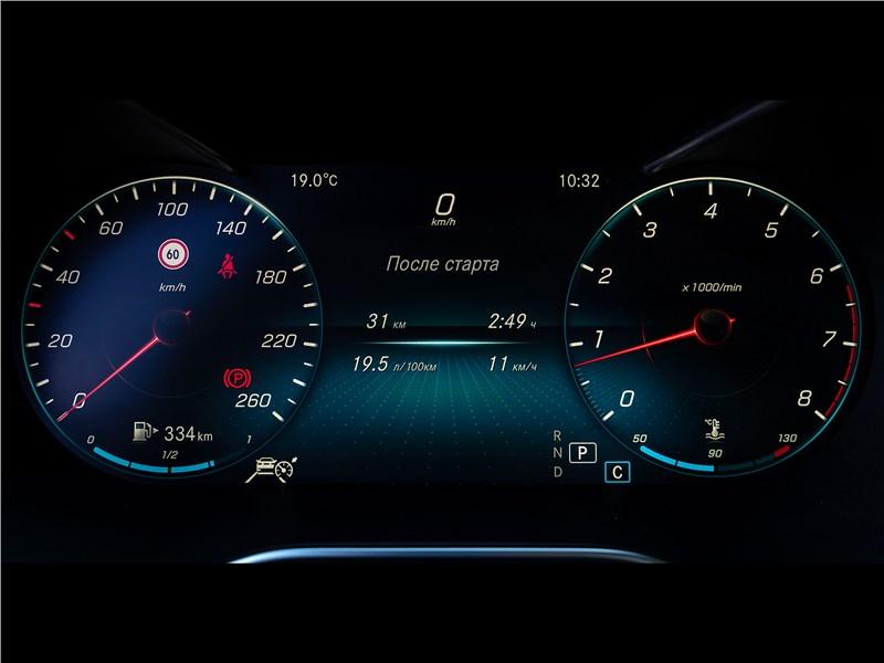 Mercedes-Benz C 300 2019 приборная панель