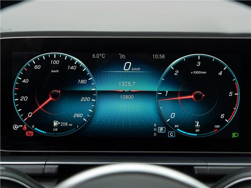 Mercedes-Benz GLE 2020 приборная панель