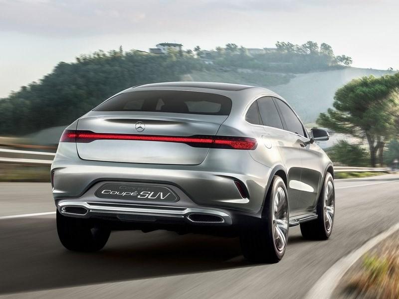 Mercedes-Benz Coupe SUV Concept 2014 вид сзади