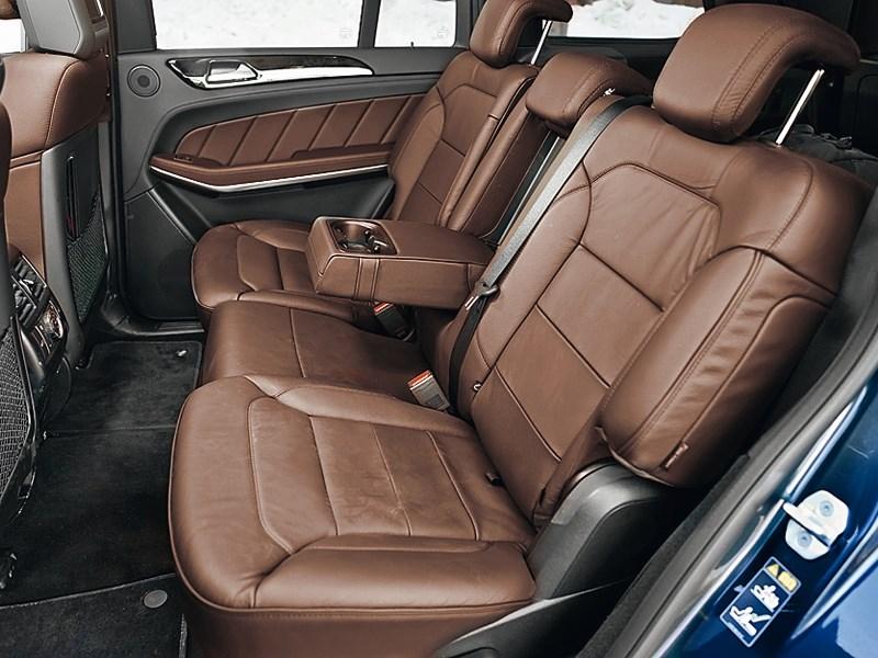 Mercedes-Benz GL-Klasse 2012 задний диван