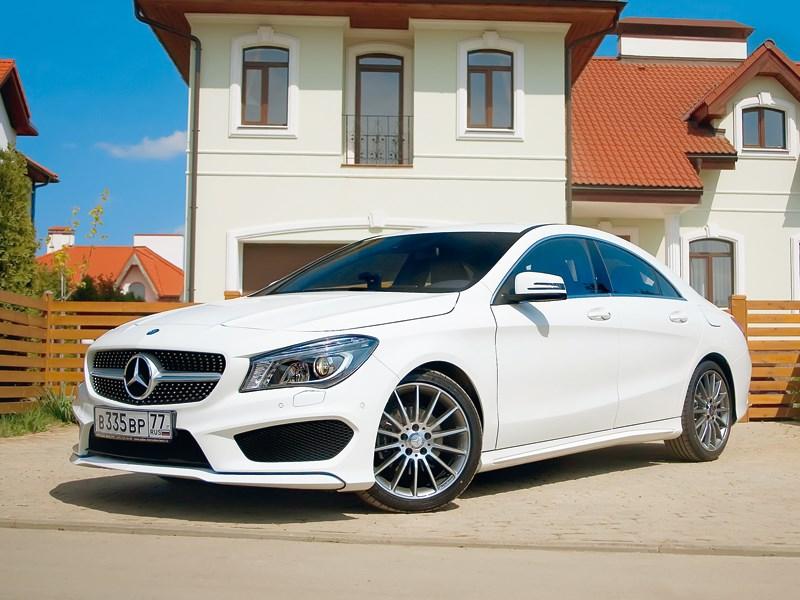 Mercedes-Benz CLA-Klasse 2013 вид спереди