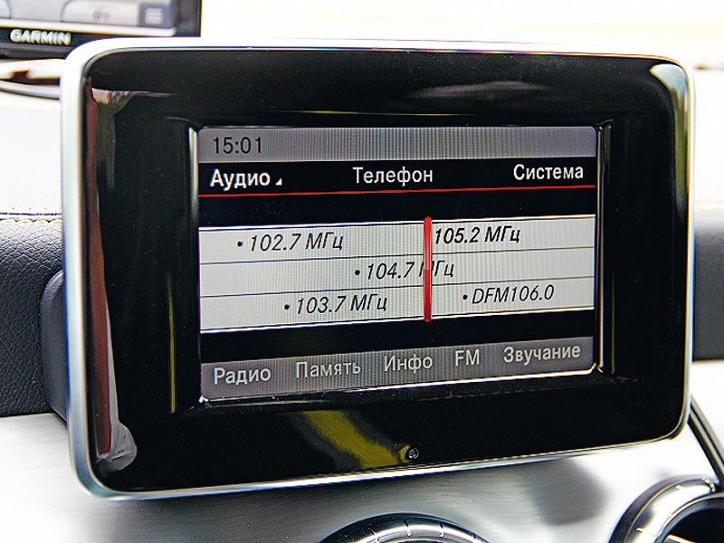 Mercedes-Benz CLA-Klasse 2013 монитор