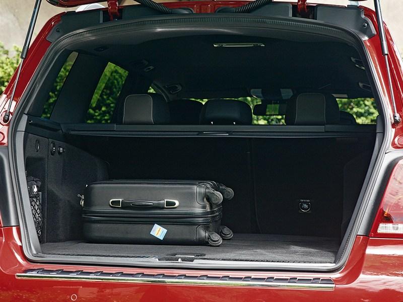 Mercedes-Benz GLK 2013 багажное отделение