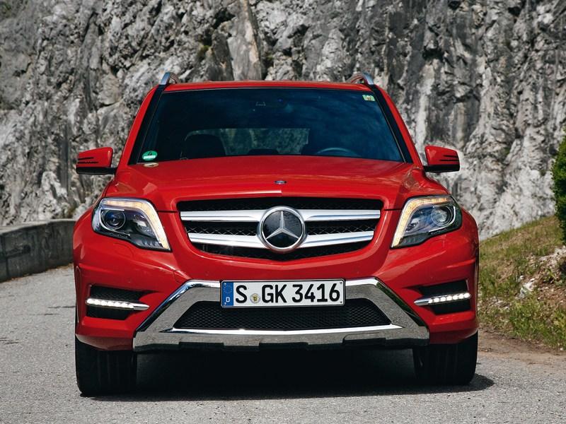 Mercedes-Benz GLK 2013 вид спереди